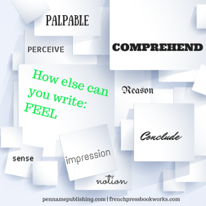 "Other ways to say ""feel"" 